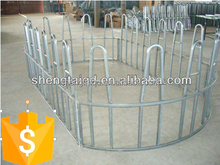 Galvanzied customized livestock cattle hay feeder