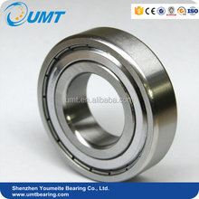 High speed Deep Groove Ball Bearing 6200 10x30x9mm with motors