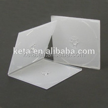 5.2MM Short Single Clear Slim Square VCD PP CD Case