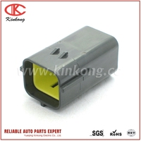 Kinkong Sealed 6 Pin Male Waterproof Auto Vehicle Connector Automotive Plug 7222-7464-40