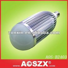 2012 NEW ! 2640lm cool white 2400lm 12 volt e27 24w led bulb warm white