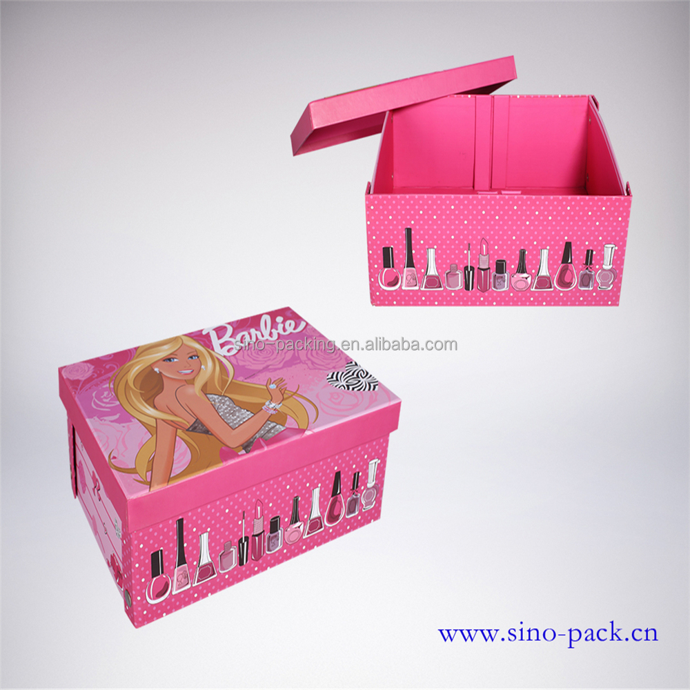 Paper printed box decorative paper storage box cardboard packaging box