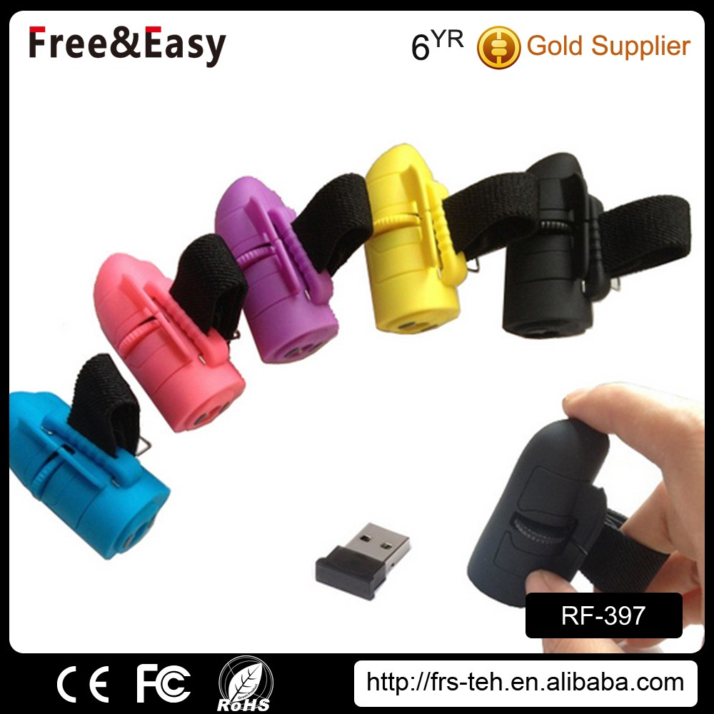 Mini Finger Rings Optical 2.4g wireless handheld computer mouse