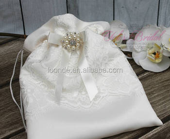 Floral Print Jewelry drawstring gift bags wedding favor bags