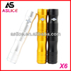 Aslice huge vapor x6 tank kts e-cig with ego ce4/x6 v2 atomizer with 50% discount