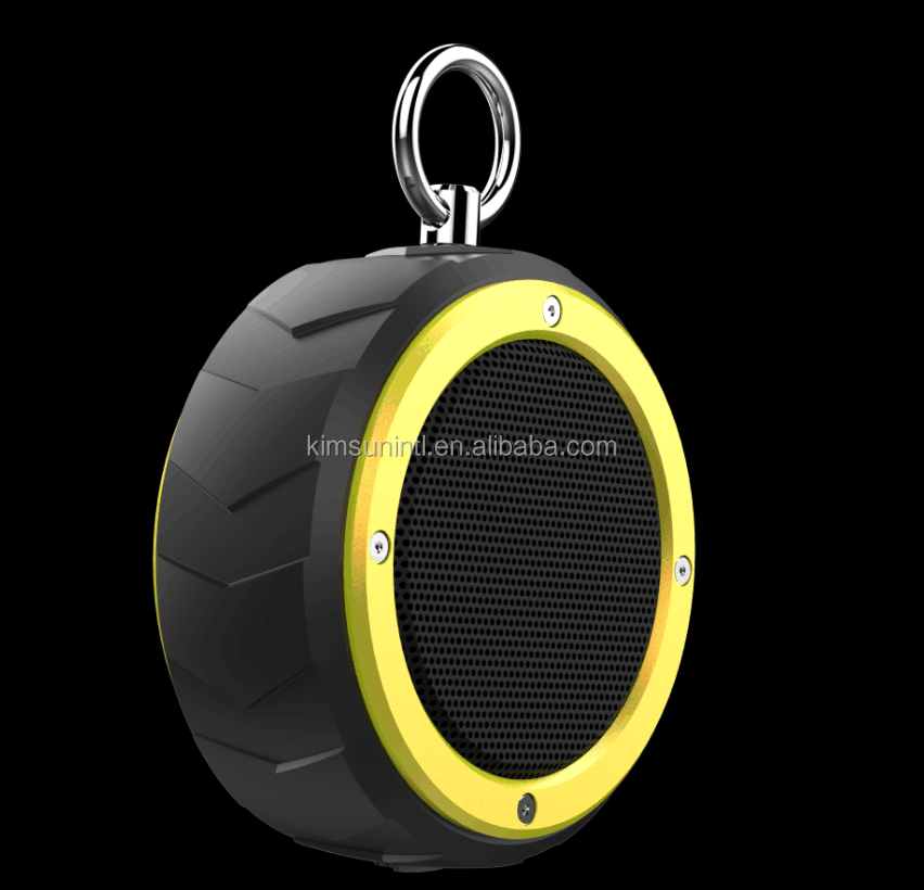 Multifunctional high quality portable 5W outdoor waterproof bluetooth speaker with bike mount