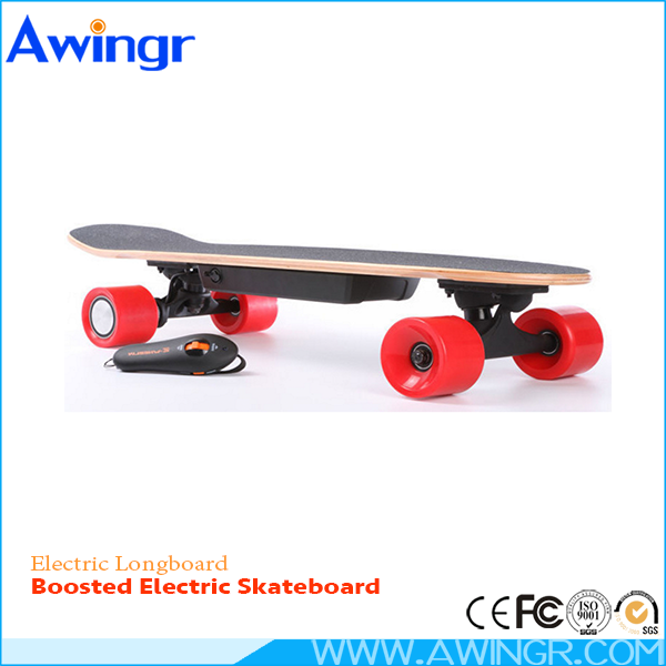Free Shipping 2016 most popular maple fiberglass RC controll skateboard sporting goods