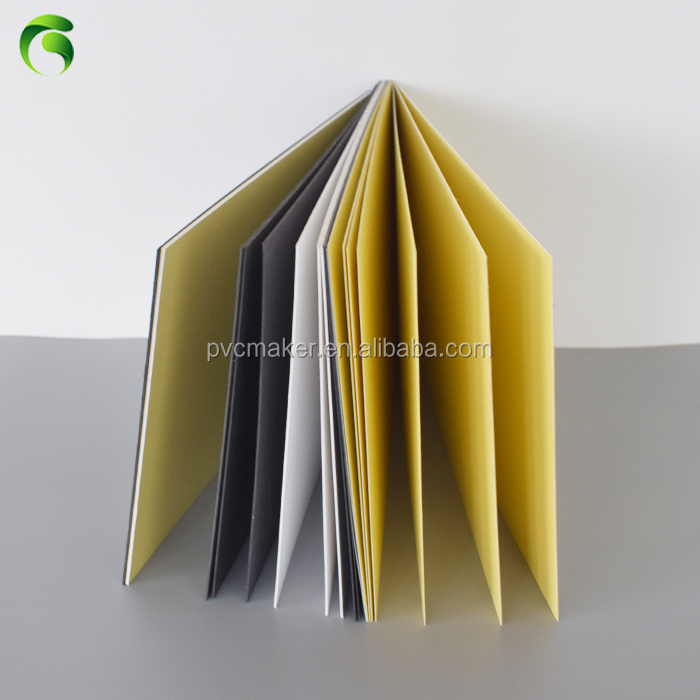 Green 2018 photo book adhesive album materials pvc sheet black