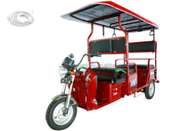 2017 new design battery operated passenger tricycle for india