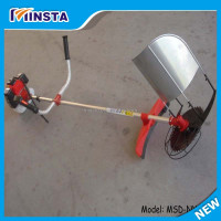 Gasoline mini paddy rice and wheat cutting machine rice cutter wheat reaper