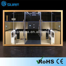 2015 Hot Sell Multi Function Shower Sauna Steam Combine Room