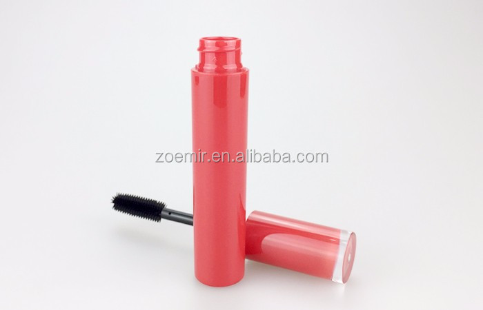 New design red mascara container cosmetic packaging tube luxury mascara bottle