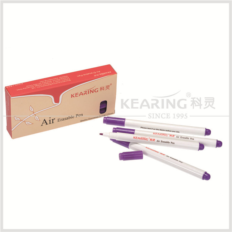 Kearing brand 0.5mm fiber tip violet non toxic auto vinish air erasable marker for temporary marking