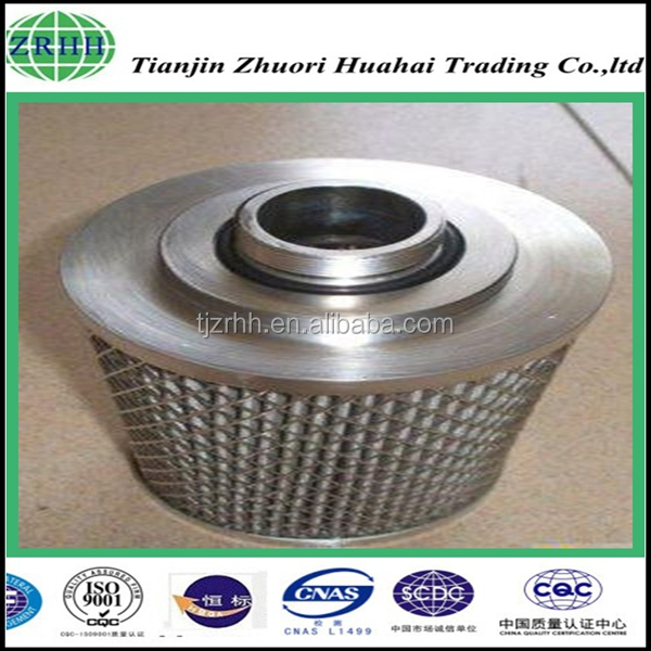 high temperature resistant good rigidity stainless steel filter sheet/filter leaf used for excavator and car engine