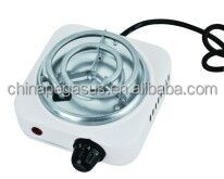 500W mini single burner electric coil solid hot plate