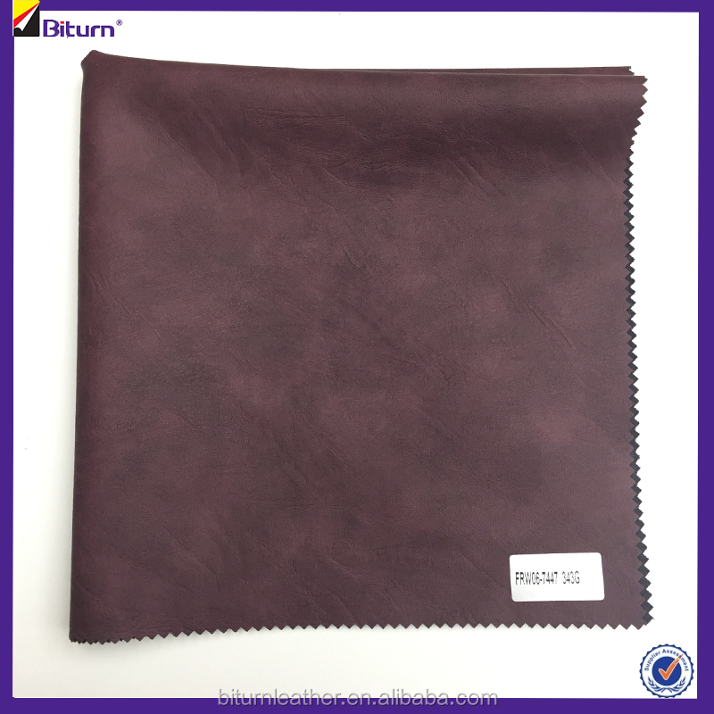 Hot artificial leather good for making leather jacket