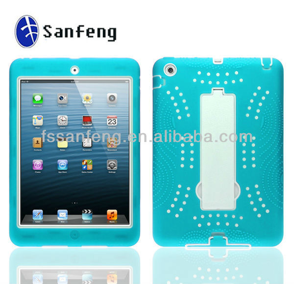 Products green Full Body Plastic Protective Smart Cover Skin Case Stand for iPad Mini