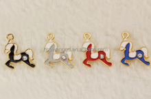 Exquisite Lovely Alloy Horse Pendant Jewelry,Pendant Wholesale