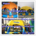 Hot selling Air Sealed Large Inflatable Pool with Tent