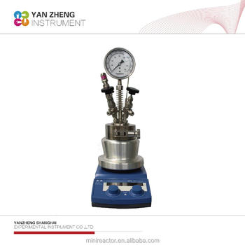 bench top chemical agitated reaction vessel