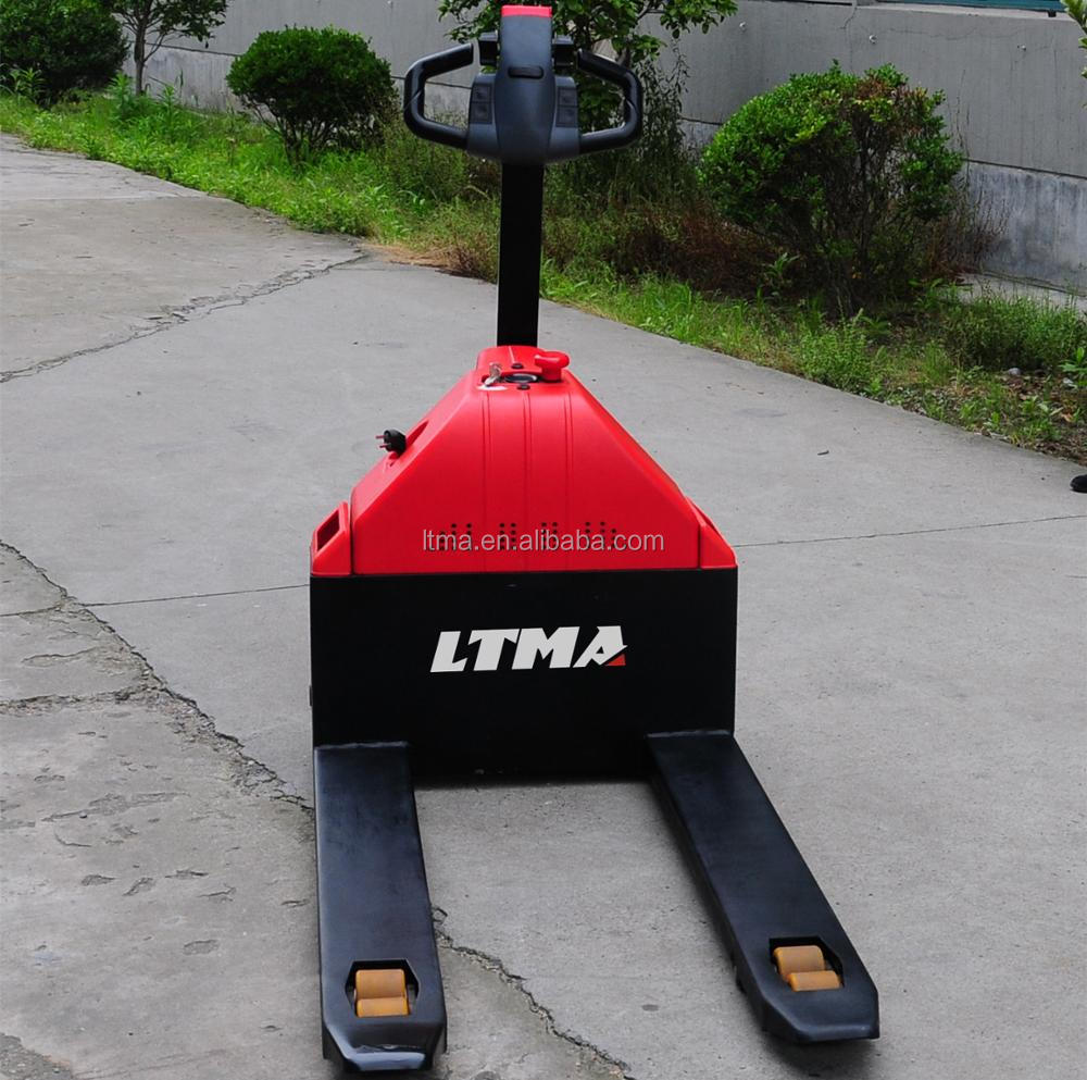 Portable machine 1.5t mini electric pallet truck