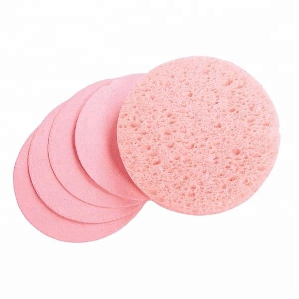 compressed cellulose cosmetic sponge