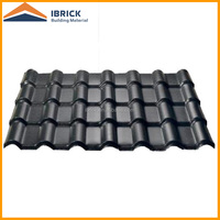 Asa coated synthetic resin PVC roof tile with different color can be customized