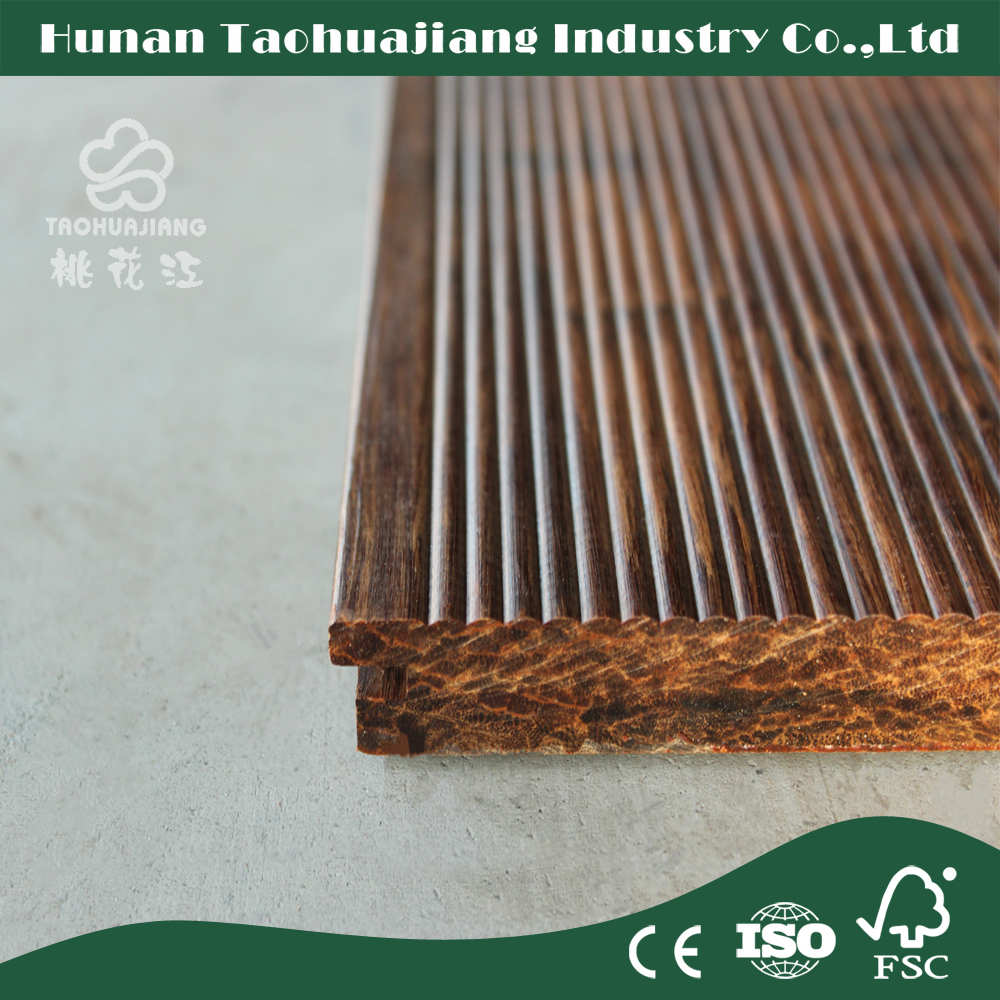 Fsc economic outdoor flooring with cheap bamboo flooring for Bamboo flooring outdoor decking