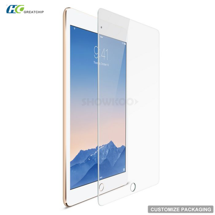 9H tempered glass for Ipad pro /tempered glass screen protector for Ipad pro