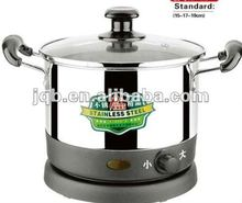 19cm Stainless steel electric stockpot/cooking pot