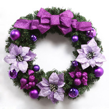 Christmas decoration Glitter wooden christmas twig christmas wreath