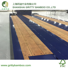Bamboo Outdoor Skateboard Laminated Truck Deck In Manufacturer