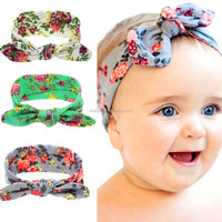 Wholesale Headband Sets Mother Baby Girl Twisted Headband Floral BowKnot Hairband Turban Head Wrap Hair Band Accessories