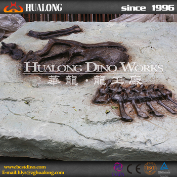 High Quality Artificial Dinosaur Fossil From Factory