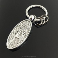 Custom Made Penang Promotional Keychain Wholesale Cheap Metal Keyrings