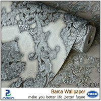 hotest sale chinese style foam backed vinyl wallpaper
