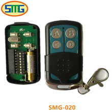 Malaysia 5326 330mhz dip switch auto gate remote control,transmitter,keyfob with metal sliding cover