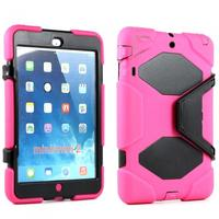 iPad Mini 2 Mini Armor Defender Pink Black Case