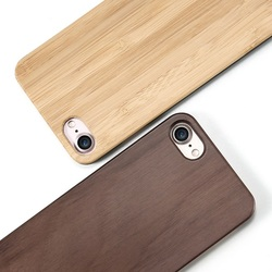 Wholesale Hot Custom Blank Bamboo Wood Phone Case Back Cover For Iphone 8