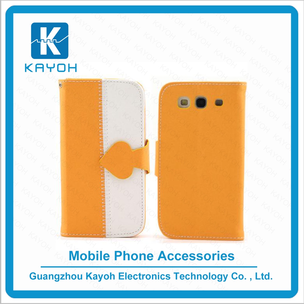 [kayoh]Luxury genuine leather filp cover case For Samsung s3\s4\s5\s6\S6 Edge covers for iphone