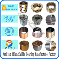 self lubricating sliding bearing bushing