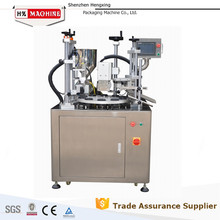 Beautiful Plastic Tube Filling Sealing Machine For D25mm Empty Acrylic Cap Tube
