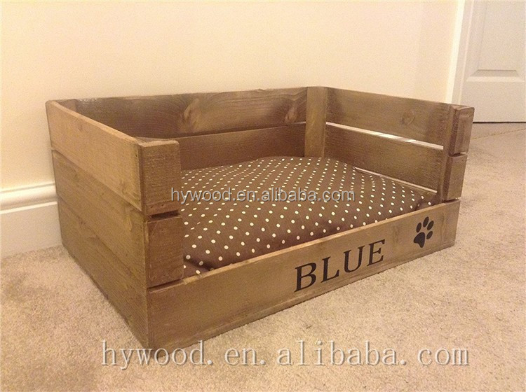 Indoor Cheap Wood Material Pet Bed Dog Crate Wholesale