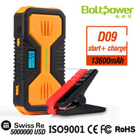 2016 Best Selling 12V Portable Car Emergency Power Bank Tool Kit 12000MAH Battery Jump Starter