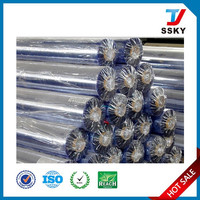 Super clear pvc film in roll for bag making