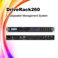 DriveRack260 audio sound system digital feedback processor