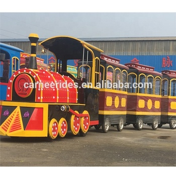 Super fun mini electric train kids ride indoor mall train trackless for sale