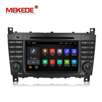1024x600 Quad core Car GPS navi radio stereo for C Class W203 c200 C230 C240 C320 C350 CLK W209 GPS Radio WiFi Android 6.0