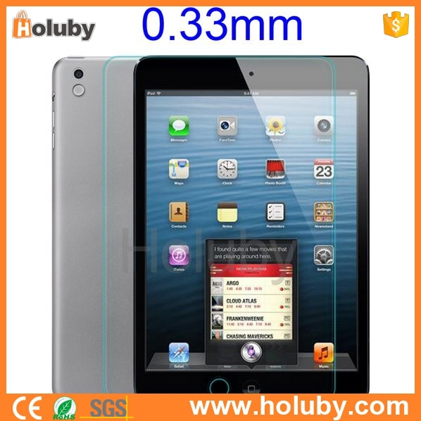 hot new retail products Tempered Protective Glass Film Screen Protector for iPad Mini/ iPad Mini 2