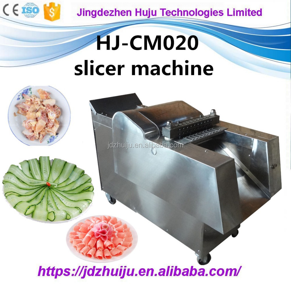 automatic frozen meat/pork/beef/goat/chicken cutting/cutter machine HJ-CM020